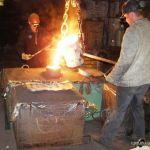 Литые поддоны из жаропрочных сталей