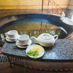 Молодильный чугунный чан для бани