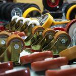 колеса и колесные опоры для тележек платформееных и тачек