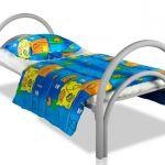 Кровати металлические одноярусные для больниц, кровати двухъярусные для общежитий оптом