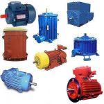 Электродвигатели А4,  АК4,   ВАО4,  2ЗМВ,  ВАСО4,  4АЗВ, 4АЗМ. Общепромышленные до 250 кВт