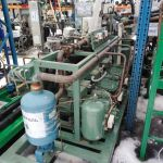 Агрегат для морозильного склада