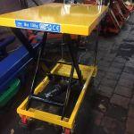 гидравлический подъемный стол, грузоподъемность 150 кг