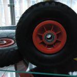 колеса для тележек, садовых и строительных тачек