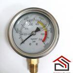 Манометр к насосу высокого давления однокомпонентному 1К, двухкомпонентному 2К