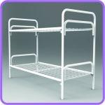 Металлические одноместные кровати эконом-класса для больниц, пансионатов, санаториев и общежитий