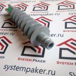 Пакер инъекционный (инъектор) 18х115 (18*115) (18/115) пластиковый с обратным клапаном спираль