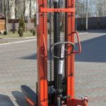 штабелер гидравлический 1000 кг высота подъема 1,6 метра