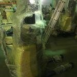 Штабелер ручной с электроподъемом малогабаритный 1 тонна/2,5 метра